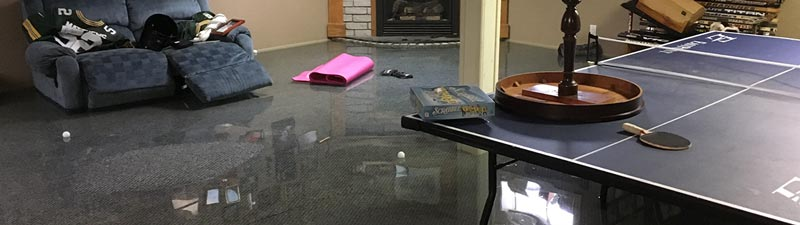 Water Damage Restoration in Woodstock by A.P. Hurley